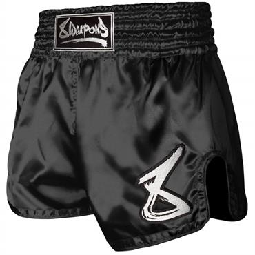 pantaloncino muay thai strike 8 weapons NERO/BIANCO