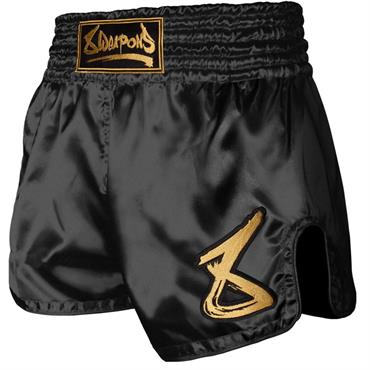 pantaloncino muay thai strike 8 weapons NERO/ORO