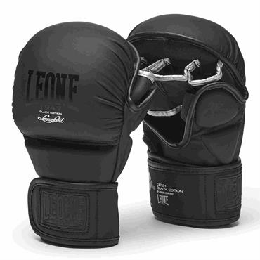 guanti mma sparring black edition leone