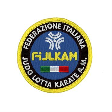 patch ricamata fijlkam